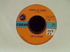 "CHUCK BERRY Johnny B. Goode/Around & Around 7"" 45 Chess reissue rock & roll"