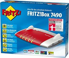AVM FRITZ!Box 7490 WLAN AC + N Router VDSL/ADSL, 1.300 Mbit/s DECT, MEDIA SERVER
