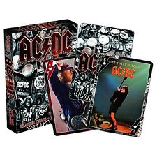 100% Official Licensed Merch Pack of 52 Poker Playing Cards Metal Rock AC/DC #b
