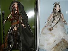FARAWAY FOREST ELF AND LADY OF THE WHITE WOODS BARBIE DOLL FANTASY