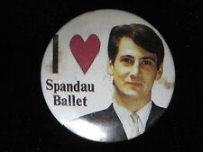 Spandau Ballet-Tony Hadley-I Love-Small-Button-80's Vintage-Rare