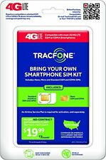 TracFone SIM Kit Bring Your Own Device with 2nd Plan FREE on $15, $25 or $35