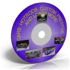 Voitures: hotrods, custom, prestige images sur DVD