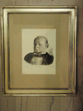 GEORGE BELLOWS (American 1882-1925)- Portrait of Julian Bowes-lithograph, 1923