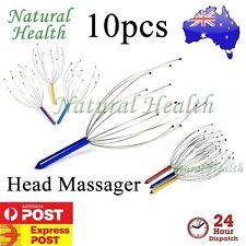 10 x Head Neck Scalp Massager Octopus Massage Equipment Stress Relax Revive Tool
