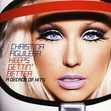 Keeps Gettin' Better-A Decade Of Hits - Christina Aguilera (2008, CD NIEUW)