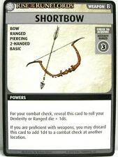 Pathfinder Adventure CARD GAME - 1x shortbow-rise of the runelords