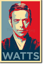 ALAN WATTS ART PHOTO PRINT 5 POSTER GIFT (BARACK OBAMA HOPE PARODY) ZEN