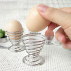 Stainelss Steel Spring Wire Tray Egg Cup Boiled Eggs Holder Stand Storage Hot