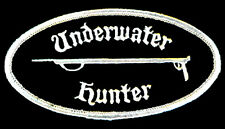 SCUBA DIVER - UNDERWATER HUNTER STICK ON PATCH * GEN1823