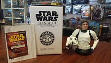 Star Wars Han Solo in Stormtrooper disguise mini bust from Gentle Giant