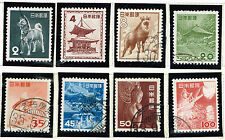 Japan Country Scenes Dog stamps 1952