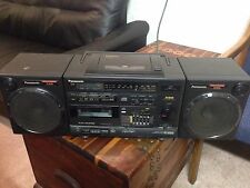 Panasonic XBS Model RX-DS650 Boombox Portable Stereo Component CD System