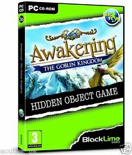 Awakening: The Goblin Kingdom (PC CD) Hidden Object Game Puzzle BRAND NEW SEALED