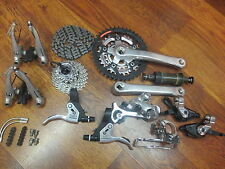 VINTAGE SHIMANO SLX COMPLETE 8 SPEED TRIPLE 175 42/32/22 V-BRAKE GROUP BUILD KIT