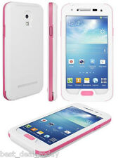 OEM Seidio Obex Waterproof Rugged Case For Samsung Galaxy S4 S-4 IV White/Pink