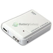 USB White Emergency Portable 4 AA Battery Charger for Amazon Kindle Fire HD HDX