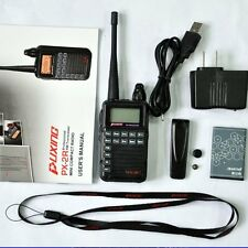 PUXING PX-2R UHF Plus (400-470MHz TX/RX) VHF (136-174MHz RX Only) Dual receive