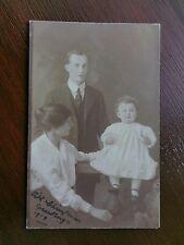 FAMILY PORTRAIT 1919 POSTCARD