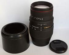 Objectif SIGMA AF Zoom APO Macro DG 70-300 mm f/4 - 5.6 - SONY alpha -