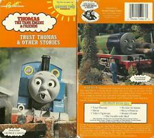 Rare Vintage Thomas Train Tank  Engine Friends Trust Thomas VHS video