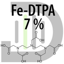 Iron fertilizer 7% VU-DTPA Iron chelate 100 g stable up to pH 7,5 water soluble