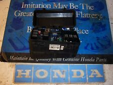 2001 Honda Accord LX  outside under hood fuse panel box relay  2002