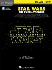 Play-Along Star Wars The Force Awakens Clarinet Movie MUSIC BOOK & ONLINE AUDIO