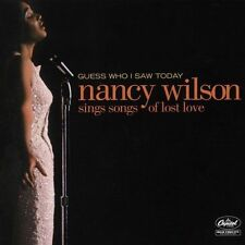 Wilson, Nancy Guess Who I Saw Today CD ***NEW***