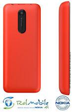 Carcasa Tapa Batería Back Battery Cover  Nokia 108 Original 9448542 Roja Red