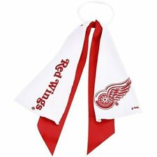 NEW DETROIT RED WINGS PONYTAIL HOLDER HAIR TIE RIBBON CUTE