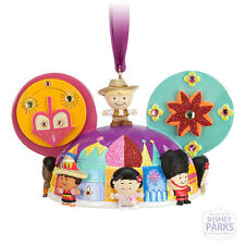 """Authentic Disney Parks """"It's a small world"""" Ear Hat Ornament"""