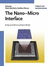 The Nano-Micro Interface: Bridging the Micro and Nano Worlds