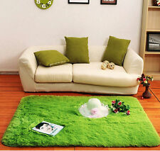 Soft Foam Shaggy Rug Non-Slip Bedroom Memory Mat Batn Bathroom Shower Carpet