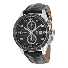 Tag Heuer Carrera Calibre 1887 Automatic Chronograph Black Dial Stainless Steel