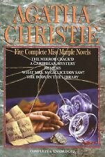 Agatha Christie : Five Complete Miss Marple Novels by Agatha Christie (Hardcover