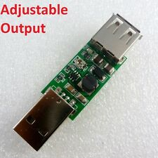 DC-DC USB 5V to 6V 9V 12V 15V Adjustable Step-Up Boost Converter Voltage Module