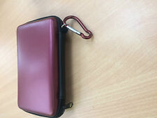 Red Hard Carry Case Cover for New Nintendo 3DS XL LL Sleeve Bag Pouch UK