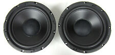 "(2) 8"" Elan 200W Model 1001 Replacement Subwoofer Speaker Sub Woofer 200W1001"