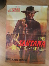 WESTERN: SARTANA KILLS THEM ALL German 1 sheet Un par de asesinos GIANNI GARKO