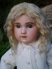 "BEBE JUMEAU  SIZE 14 . 29 "" . 74 CM . BEAUTIFUL ANTIQUE CLOTHES . FRENCH DOLL"