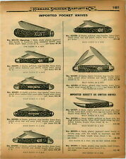 1926 PAPER AD Society Swtch Pocket Knife Knives Speying XLNT Physicians'