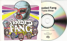 HOODED FANG Tosta Mista 2012 UK 10-track promo CD