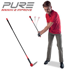 """NEW 2017"" PURE 2 IMPROVE GOLF SWING TEMPO WHIP STICK 48"" GOLF TRAINING STICK"