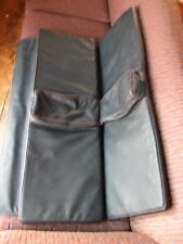 Honda CRX Rear Seat/Cushions from a 1989 CRX Si Black with Red Stitching