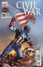 CIVIL WAR 1 VOLUME 2 BAM BOOKS A MILLION BAM MIKE GRELL VARIANT CAPTAIN AMERICA