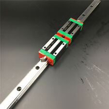 L-1500mm Linear Rail Guide HGR15 15mm & 2pc HGH15CA Rail Block Replace for HIWIN