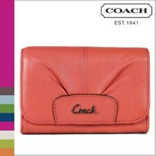 Coach F46359 Ashely Leather Compact clutch Folio wallet