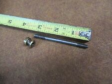 """Stanley No.2 Plane Handle Stud & Nut,(for tote)Sw Era,3""""OAL~GOOD     #S2.8.17"""