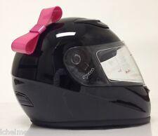 Motorcycle Helmet Bow Pink MOTORCYCLE ACCESSORIES HELMET NOT INCLUDED